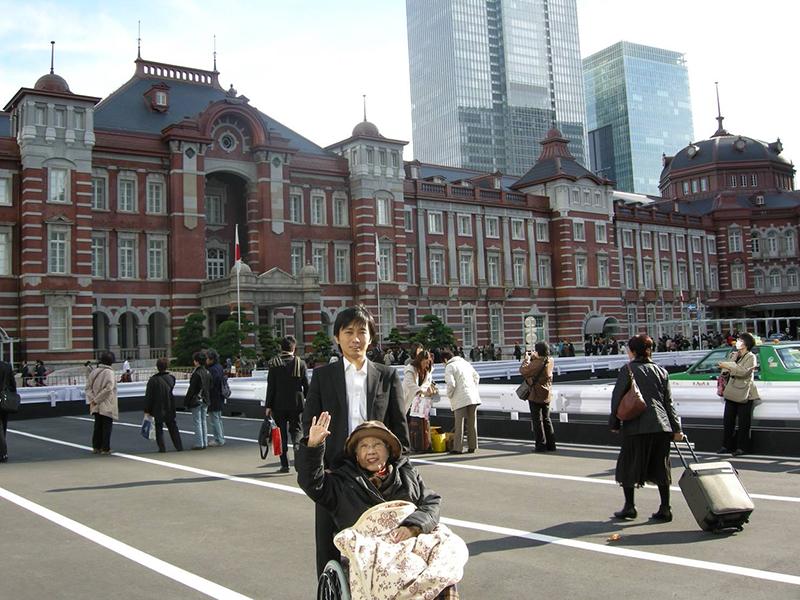祖母との東京旅行。祖母が亡くなる前にスカイツリーを見たいと言ったので、一緒にいきました