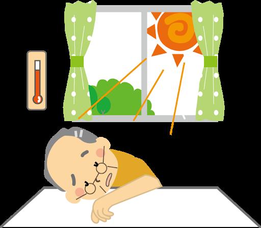熱中症急増のイメージ画像